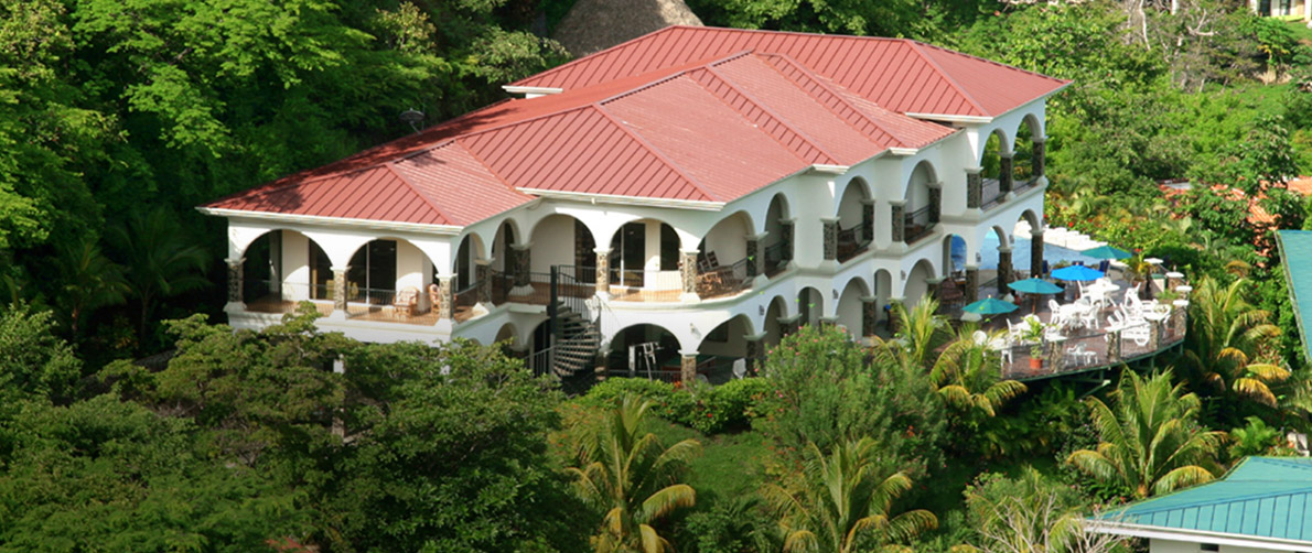All inclusive private luxury villas in costa rica for Cascada exterior